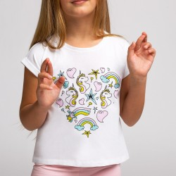 Camiseta UNICORNIO COLORIN Conguitos